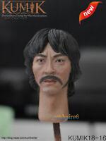 1/6 Scale KUMIK 18-16 Male Head Sculpture Model F 12 Inch Hottoys Action Figure