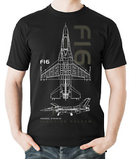Flyingraphics aviation themed T Shirt 'F16 Fighting Falcon'