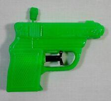 GREEK VTG 70's SQUIRTER MINI PLASTIC WATER GUN LIGHT GREEN PISTOL UNUSED