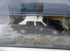 CHEVROLET NOVA POLICIA POLICE BOND 007 LIVE AND LET DIE 1/43 FABBRI