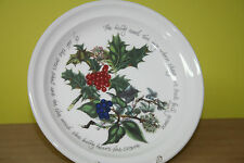 Kuchenteller 21,5cm Portmeirion The Holly and the Ivy