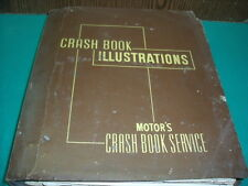 BUICK CADILLAC CHEVROLET MERCURY OLDSMOBILE ETC MANUEL CRASH BOOK ILLUSTRATION
