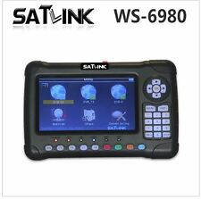 Satlink WS-6980 7inch HD LCD Screen Spectrum analyzer Digital Satellite finder