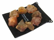 1/2 lb Lot Rough Carnelian Stones Zentron™ Crystals