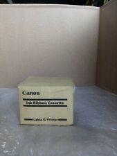 Canon Ribbon Cassette Black 100m 3604b001 For Mk2500 Cable Id Printer