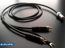 Canare starquad phono / tonearm cable - 4 x 24AWG -1.2m