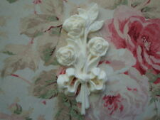 Shabby & Chic *Rose Bouquet* Drop Furniture Applique Architectural Onlay