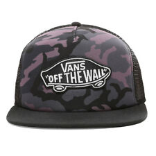 88474b4b Vans NEW Men's Classic Patch Trucker Plus Cap Black Plum BNWT
