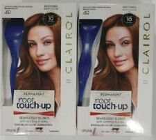 (2) Clairol Root Touch-Up Hair Color 4R Dark Auburn Reddish Brown Permanent