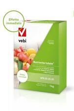 NUTRIMENTO TOTALE NPK 20 20 20  Concime macro e microelementi, conf.da 1 kg Vebi