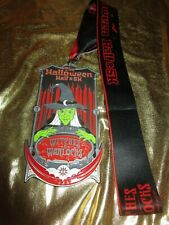 Halloween Witches & Warlocks Marathon Medal Half and 5K Race Running Medal
