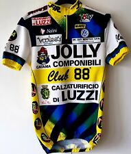 Jolly Componibili Club 88 Cycling jersey Yellow Blue Size M