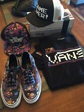 Vans Nintendo donkey kong size 7 Men bundle Used 1 Time nike jordan Kd Supreme