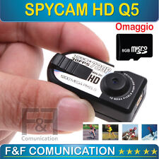 MINI VIDEOCAMERA DIGITALE HD SPY CAM SPORT SOFTAIR AUTO MOTO CASCO SPIA