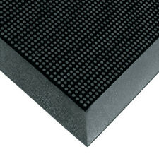 """Home Office Rubber 5/8"""" thickness Black Rubberized Entry Indoor Mat USA 1 EACH"""