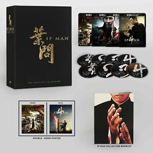 Ip Man The Complete Collection 4K Ultra HD Blu-ray Donnie Yen Well Go USA