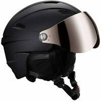 Ski Helmet with Detachable Snow Goggles Snowboarding Motorcycle - Size M