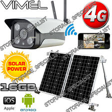 4G Solar Farm Camera Wireless Security GSM Home IP Alarm System Remote Monitor
