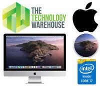 Apple iMac 27 All in One i7-4771 Quad Core CPU 16GB Ram 1TB HDD Mac OS Catalina