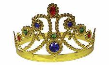 Verstellbare Königin Krone Prinzessin Gold/Silber Juwelen crown 179047