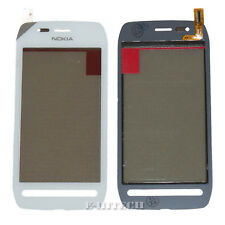 Nokia 603 N603 Touch Screen Digitizer Glass White Panel replacement + tools