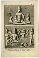 Antique Print-ARCHITECTURE-SCULPTURE-ASIA-Philips-ca. 1770