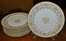 Lovely Set of 8 Antique Limoges Plates Jean Pouyat Wright Tyndale Philadelphia