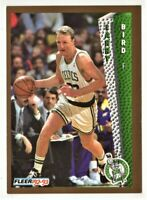 1992 Fleer Basketball card#11 Larry Bird Mint Condition.