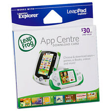 LeapFrog App Centre Download Card $30 AUD LeapPad Leapster Game Book Leap Frog