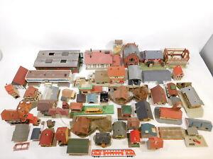CT219-12# Konvolut Spur H0  Fragmente Häuser/Lokschuppen/Bahnhof etc, Faller etc