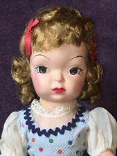 "16"" Vintage Antique MINTY Mary Jane ""Walker"" Original Outfit Blonde Hair # SB"