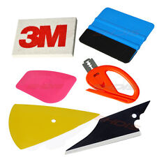 6in1 Squeegee PRO Car Tinting Tools Kit Cutter Auto Film Decals Wrap Application