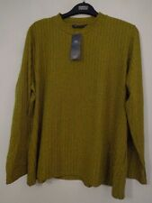 BNWT LADIES M&S COLLECTION RANGE LONG SLEEVED LIME COLOURED TOP SIZE 24