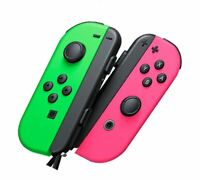 Nintendo Interruptor Joy-Con Mandos Par - Neón Verde Y Rosa