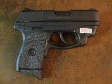 Black Textured Rubber Grip Enhancements for the Ruger LC9/LC9S            wctcl