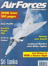 Air Forces Monthly (July 1996) (Sri Lanka AF Report Kfir, Bosnia, U-2 in France)