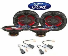 "Boss 5x7"" Front+Rear Factory Car Speaker Replacement Kit For 99-03 Ford F-150"