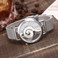 Women Casual Quartz Stainless Steel Band Marble Strap Watches Analog Wrist Watch