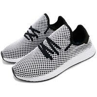 adidas Originals Deerupt Runner Black White Men Running Casual Shoes CQ2626