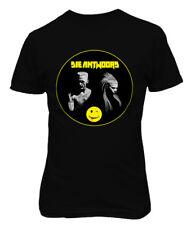 Die Antwoord Yolandi Visser Smiley Logo Rap ,Rave ZEF Aphex Men Printed T-shirt