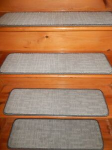 "13 Step 9"" X 30"" + LANDING 27"" X 30"" Stair Treads Staircase Step CARPET."