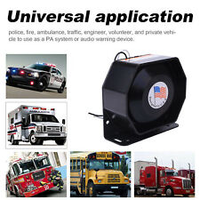 Universal 400W G1 Compact Loud Speaker PA System Horn Car Emergency Warning Sire