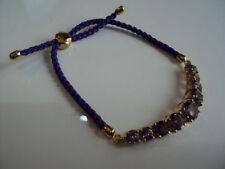 Friendship Amethyst Fine Bracelets