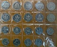 2001 Centenary of Federation COF 50 and 20 cent Collection excellent Cond aUNC