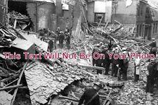 KE 445 - WW2 Bombing Of Deal, Middle Street, Kent 1940 - 6x4 Photo