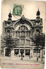 CPA  Lille - Maison du Peuple (Place Condé)  (204534)