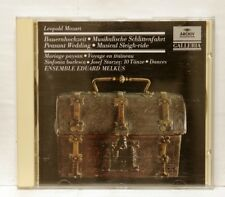 EDOUARD MELKUS - MOZART Peasant Wedding STARZER Dances ARCHIV CD full silver NM