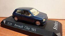 1/43 RENAULT CLIO 16S Street version (Factory blue sport Renault metallized)