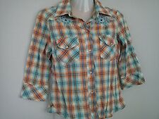 AMAZING JANE NORMAN HOLIDAY LADIES WOMENS BLOUSE TOP SHIRT SIZE 8