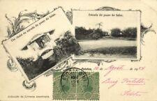 brazil, PELOTAS, Um Chalet na estrada do Passo do Salso (1904) Stamps